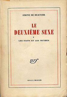 Le deuxième sexe.jpg El Segundo Sexo