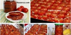 How to Dry Tomatoes at Home Practically and quickly? Nil in the mail . Cooking Tips, Cooking Recipes, Healthy Recipes, Turkish Recipes, Ethnic Recipes, Oven Dishes, Most Delicious Recipe, Seasonal Food, Dried Tomatoes