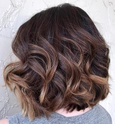 Curly Layered Lob for Thick Hair