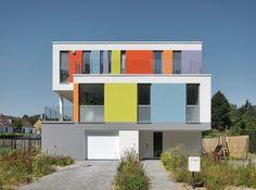 Leonetti - Façade colorée.