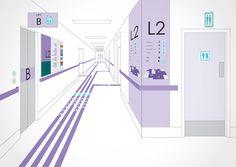 wayfinding hospital - Cerca con Google