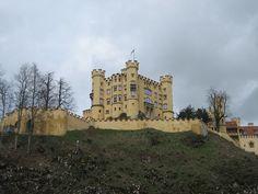 El Castillo de Neuschwanstein o Castillo del Rey Loco