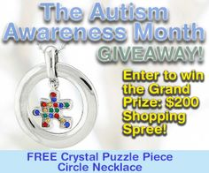The Autism Awareness Month Giveaway: Enter for a Chance to Win a $200 Shopping Spree at The Autism Site Store! Free Gift Just for Entering!