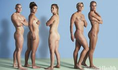 England's women's rugby sevens squad go naked for magazine shoot