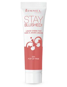 Rimmel Stay Blushed! Liquid Cheek Tint in Pop of Pink. This is actually a mousse formula, not a liquid, and it's easy to apply and blend. The color is nice and the pigmentation is good. It wears well on me despite how oily my skin is. I like it and it's very affordable (about $3).