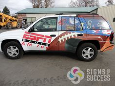 Full wraps can grab attention to advertise your company