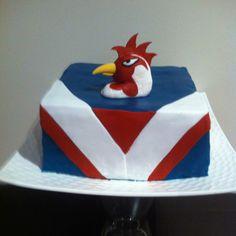 Sydney Roosters NRL Birthday Cake.