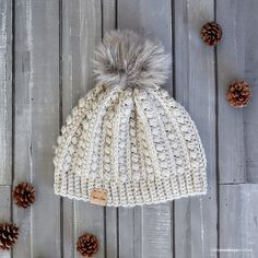 This pattern is part of the Fall 2017 Malia CAL (Crochet-Along). To view the other patterns in this collection (including a slouchy hat, infinity scarf, and buttoned cowl), please visit the Malia CAL Homepage. Winter is coming, and that means... hat season! I love hat season, especially on s