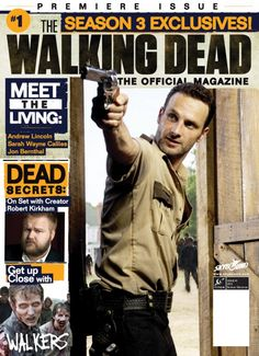 Official Magazine About The Walking Dead Coming In October! on http://www.shockya.com/news