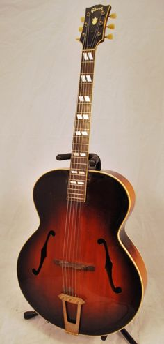 1948 Gibson Vintage '48 Gibson USA L-12 Archtop Acoustic Guitar   I saw a guitar like this when I was about 3 and fell in love.