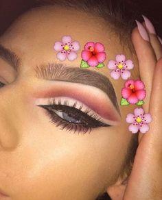 Makeup Hacks Online – Hair and beauty tips, tricks and tutorials Pretty Makeup, Love Makeup, Makeup Inspo, Makeup Inspiration, Makeup Stuff, Kiss Makeup, Makeup Art, Beauty Makeup, Hair Makeup