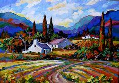 Marlise le Roux - Landscapes Art Gallery