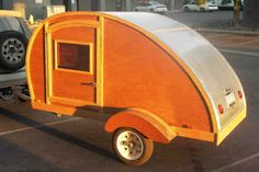 Woody our first teardrop trailer, click on picture for more pictures