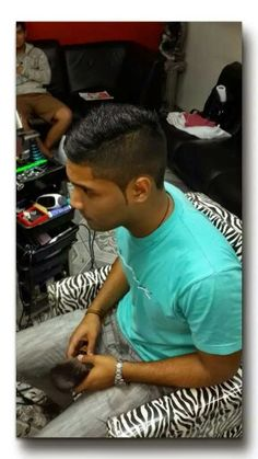 Nice and hansome #haircut My friend Néstor