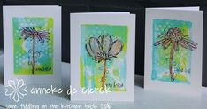 Some fiddling on the kitchen table: Faux Print Look Stamps Darkroom Door Fine Flowers