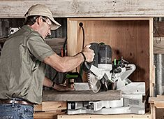 When looking for a good miter saw, you can never go wrong with the Festool Kapex KS 120 sliding compound miter saw. This saw provides with an accurate way of cutting lumber effortlessly. Sliding Compound Miter Saw, Compound Mitre Saw, Festool Kapex Ks 120, Power Tools, Workshop, Collection, Atelier, Electrical Tools