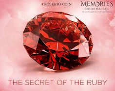 In every Roberto Coin piece there is a hidden ruby, look where yours is! #RobertoCoin #MemoriesJewelryBoutique #fortlauderdale #beach #ritzcarlton #hidden #ruby #jewelry #style #fashion #trend #health #wealth #prosperity #memories #makingmemories