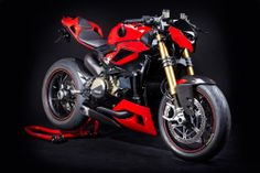 Ducati 1199 Panigale Streetfighter by Hertrampf....yep....he wishes too!