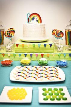 Unicorn Rainbow Birthday Party | | Kara's Party IdeasKara's Party Ideas
