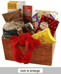 Boston Deluxe Food Gift Basket