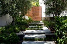 Elegant landscape design ideas by Tim Davies Landscaping Branksome