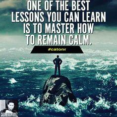 💥Que hombre es ese que aún el mar y los vientos le obedecen?💥 #catonr #tranquilo #calma #paz