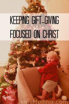 Christ-Centered Christmas Gift-Giving