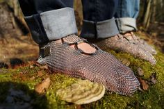 Group hike with Paleos®ULTRA. Enjoying environment-open protection against insects and other hazards at the forest floor! #paleos #chainmailshoes #barefoot #barefootrunning #naturalrunning #barefootshoe #hiking #running #biking #fishing #minimalist #minimalistshoe #trail #trailrunning #outdoor #outdoorgear #health #lifestyle #awareness #recreation