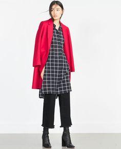 LONG TUNIC-View all-Dresses-WOMAN | ZARA Israel