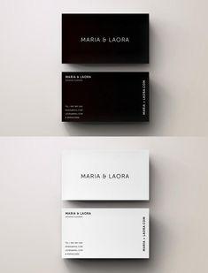 #businesscard #design from Blank Studio | DOWNLOAD: https://creativemarket.com/Blank_Studio/681045-Black-White-Modern-Business-Card?u=zsoltczigler