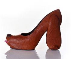 Hahahaha funny shoes