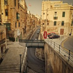 Valletta (Malta) Street View by Allard One, via Flickr