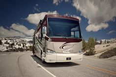 North Trail RV Center in Florida carry these beautiful diesel pusher motorhomes  http://www.northtrailrv.com/inventory/tiffin%20motor%20homes/phaeton/mhd