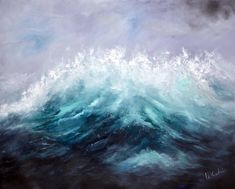 "Saatchi Art is pleased to offer the painting, ""The Storm Departs,"" by Niki Katiki, available for purchase at $920 USD. Original Painting: Oil on Canvas. Size is 35.4 H x 43.3 W x 1.2 in. Seascape Paintings, Oil Painting On Canvas, Canvas Art, Painting Abstract, Canvas Size, Greece Painting, Original Art, Original Paintings, Photorealism"