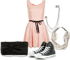 """Perfect ending to a Girly outfit!"" by iamkaitlynn on Polyvore"