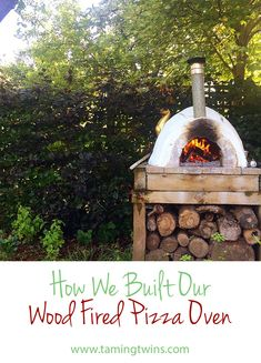 How to build a pizza oven (and fall in love with it)
