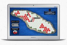 Jeu réalisé par l'agence Commun afin de promouvoir le film documentaire ANTICOSTI : La chasse au pétrole extrême http://anticosti.naturequebec.org/jeu/ #game