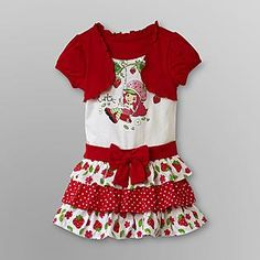 Strawberry Shortcake Strawberry Shortcake Infant & Toddler Girl's Tiered Dress - Baby - Baby & Toddler Clothing - Character Apparel ..... OMG !!!!!!!!!!!!!!!!!!!!!