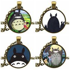 Totoro Cute Kawaii Necklace 4 Colors - OtakuForest.com