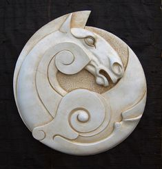 Share Tweet Pin Mail Celtic Horse Plaque This magnificent sculpture with its Celtic influenced, wing-like swirl, and powerful depiction of a white horse is ...