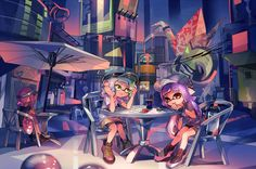 Splatoon 2 by NE (@kyuurisoda) | Twitter