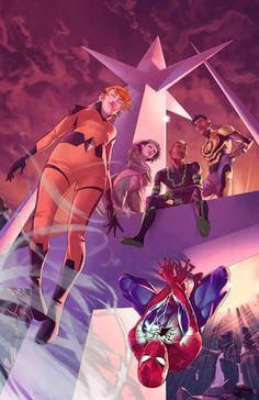 SPIDER-MAN Joins ALL-NEW INHUMANS | Newsarama.com