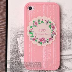 Pink iphone4/4s Cases