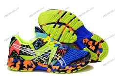 Asics Gel Noosa Tri 8 Blue/Green/Pink Mens Trail Running Shoes