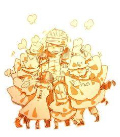 """""""Smoker! You're okay!"""" G-5, Tashigi and Smoker One Piece"""