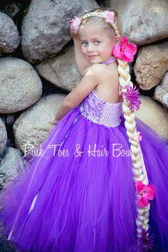 Rapunzel Tutu dress Rapunzel tulle dress Rapunzel by GlitterMeBaby Rapunzel Costume, Rapunzel Dress, Tangled Rapunzel, Costume Dress, Diy Dress, Tulle Dress, Fancy Dress, Tutu Dresses, Princess Tutu
