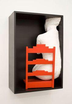 """Girl On a Chair"" | Artist: George Segal"