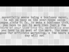 Do Not Believe Affiliate Marketing Is Easy Money https://i.ytimg.com/vi/1F2KPjCV0Wo/hqdefault.jpg