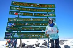 Teresa underwent shoulder surgery in July 2012, and successfully reached the summit of Kilimanjaro in December 2013. http://www.thomsontreks.com/kilimanjaro-trekker-reviews/thomson-superb-job-many-levels/