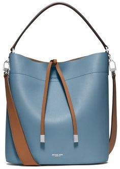 adee8be3116043 Miranda Large Leather Shoulder Bag Shoulder Strap Bag, Leather Shoulder Bag,  Michael Kors Fashion